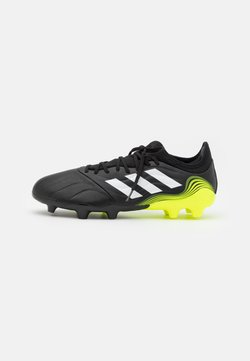 adidas Performance - COPA SENSE.3 FG - Moulded stud football boots - core black/footwear white/solar yellow