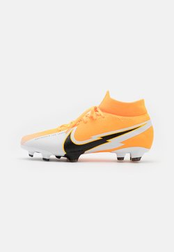 Nike Performance - MERCURIAL  7 PRO FG - Fußballschuh Nocken - laser orange/black/white