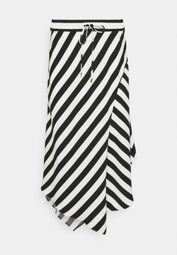 Lauren Ralph Lauren - HANIF SKIRT - A-Linien-Rock - white/black