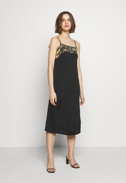 MANÉ - NOCTIS DRESS - Cocktail dress / Party dress - washed black/gold