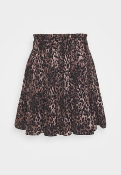 Guess - PHOENIX SKIRT - A-Linien-Rock - brown