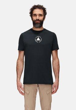 Mammut - MASSONE MEN - T-Shirt print - black prt