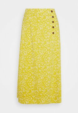 Object - OBJHESSA LILITI SKIRT  - Falda acampanada - bamboo/animal dots