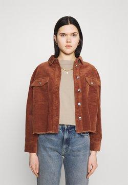 ONLY - ONLMARINA BITTEN LIFE - Summer jacket - rustic brown