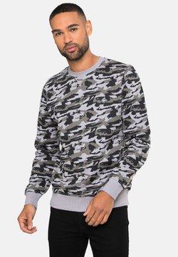 Threadbare - STANLEY - Sweater - charcoal camo
