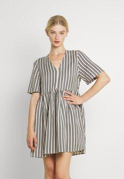 EDITED - MABEL DRESS - Freizeitkleid - beige/black