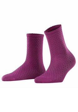 FALKE - POINTELLE - Socken - galaxy purple