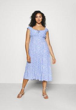 Forever New Curve - ELISE MIDI SUN DRESS - Vestido informal - light blue
