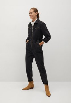 Mango - LUNA - Jumpsuit - black denim