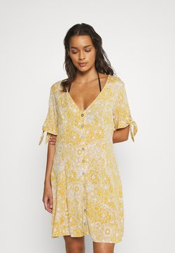 Rip Curl - GOLDEN DAYS FLORAL DRESS - Beach accessory - yellow