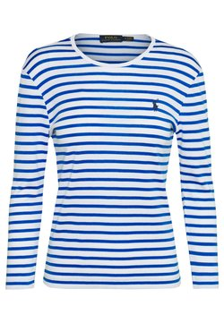 Polo Ralph Lauren - STRIPE - Langarmshirt - white/spa royal