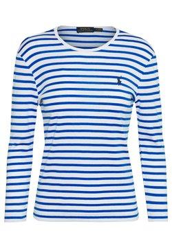 Polo Ralph Lauren - STRIPE - Langarmshirt - white/spa royal