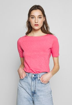 Marc O'Polo - BOAT NECK - T-Shirt basic - bright berry