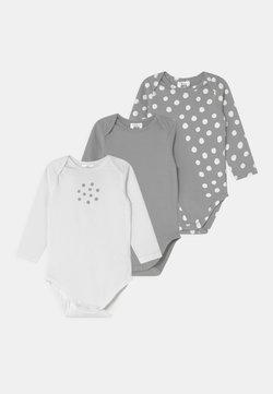 DIM - ORGANIC AMERICAN LONG SLEEVES 3 PACK UNISEX - Body - grey/white