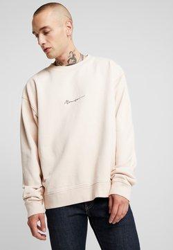 Mennace - ESSENTIAL BOXY UNISEX - Sweatshirt - beige