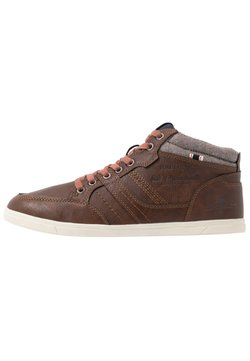 TOM TAILOR - Sneaker high - rust