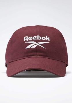 Reebok - ACTIVE FOUNDATION BADGE CAP - Casquette - burgundy