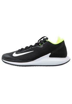 Nike Performance - COURT AIR ZOOM - Zapatillas de tenis para todas las superficies - black/white/volt