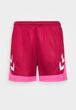 Hummel - HMLLEAD  - Korte broeken - biking red