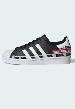 adidas Originals - SUPERSTAR SHOES - Baskets basses - black