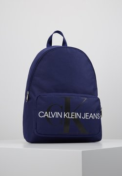 Calvin Klein Jeans - MONOGRAM CAMPUS BACKPACK  - Reppu - blue