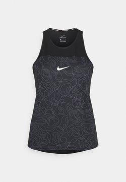 Nike Performance - RUN MILER TANK  - Débardeur - black/reflective silver
