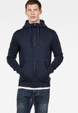 G-Star - PREMIUM BASIC HOODED ZIP - veste en sweat zippée - sartho blue