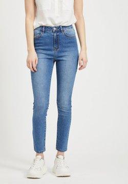 Vila - Slim fit jeans - medium blue denim