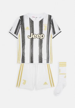 adidas Performance - JUVE MINI UNISEX - Korte sportsbukser - white/black