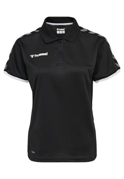 Hummel - HMLAUTHENTIC FUNCTIONAL  - Poloshirt - black/white