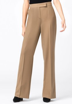 HALLHUBER - Pantalon classique - camel