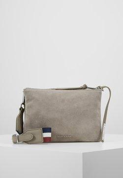 Marc O'Polo - CROSSBODY BAG - Umhängetasche - stone grey