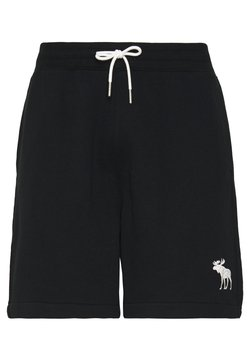 Abercrombie & Fitch - EXPLODED ICON - Jogginghose - black