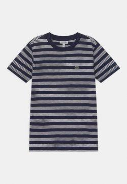Lacoste - ROLLIS - T-Shirt print - navy blue/flour