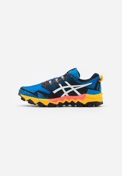 ASICS - GEL FUJITRABUCO 8 - Zapatillas de trail running - directoire blue/white