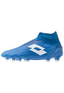 Lotto - SOLISTA 100 III GRAVITY FG - Fußballschuh Nocken - diva blue/all white/skydiver blue