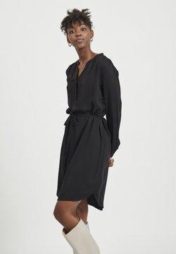 Object - MIT LANGEN ÄRMELM - Korte jurk - black