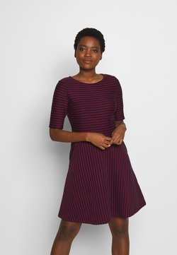 Esprit - STRIPED DRESS - Vestido informal - navy