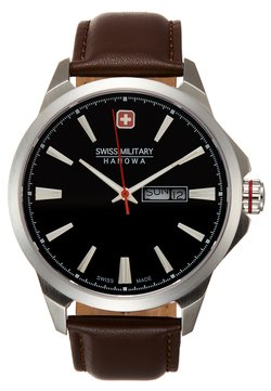 Swiss Military Hanowa - DAY DATE CLASSIC - Montre - brown/black