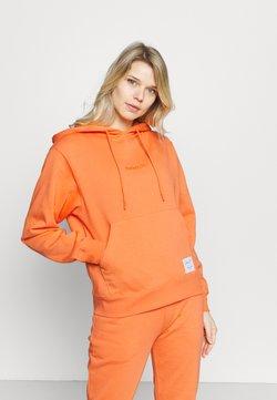 Mitchell & Ness - WOMENS ESSENTIALS HOODIE - Collegepaita - orange