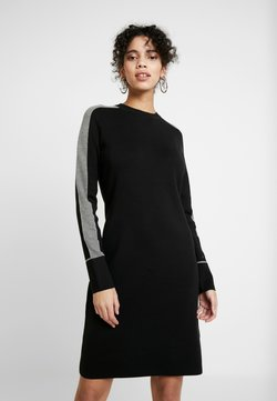 Calvin Klein - DRESS - Strickkleid - black