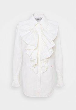 Victoria Beckham - RUFFLE FRONT SHIRT - Bluser - off white