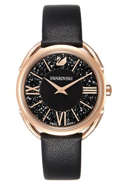 Swarovski - GLAM - Watch - rosegold-coloured/black