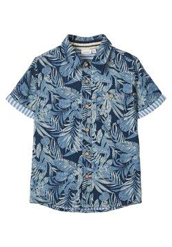 Name it - HEMD TROPEN BLATTPRINT - Camisa - blueprint