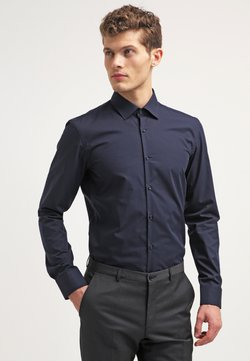 HUGO - JENNO SLIM FIT - Camisa elegante - navy