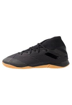 adidas Performance - NEMEZIZ 19.3 IN - Indoor football boots - core black/utility black