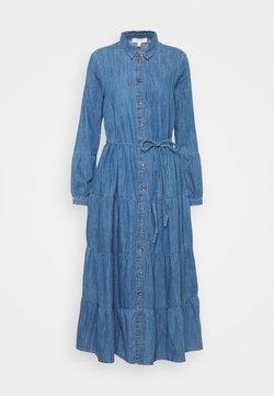Marks & Spencer London - TIER DRESS - Maxikleid - light blue