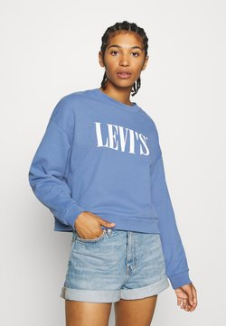 Levi's® - GRAPHIC DIANA CREW - Sweatshirt - colony blue