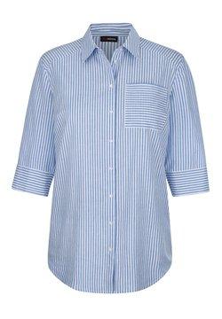 MIAMODA - Hemdbluse - hellblau weiß