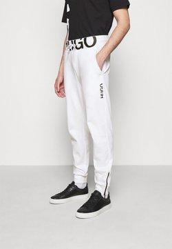 HUGO - DUROS - Jogginghose - white